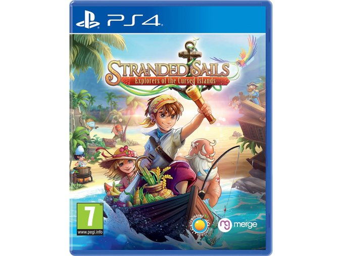 PS4 Stranded Sails Explorers of the Cursed Islands