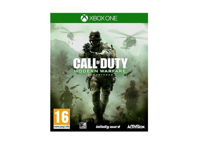 Xbox One Call of Duty: Modern Warfare Remastered