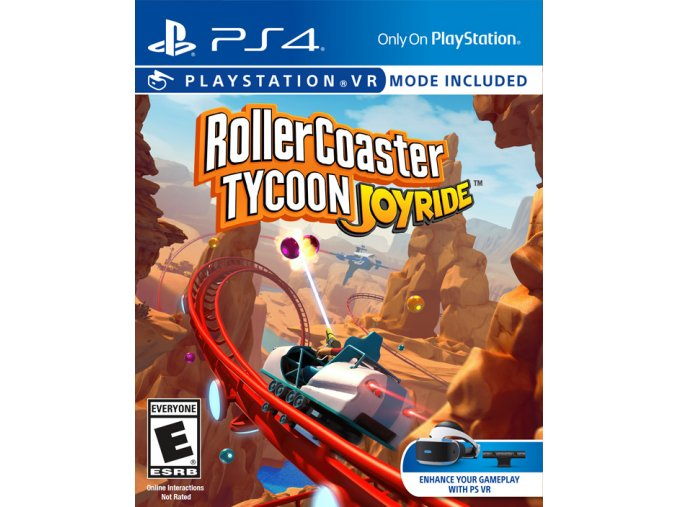 PS4 Rollercoaster Tycoon Joyride VR