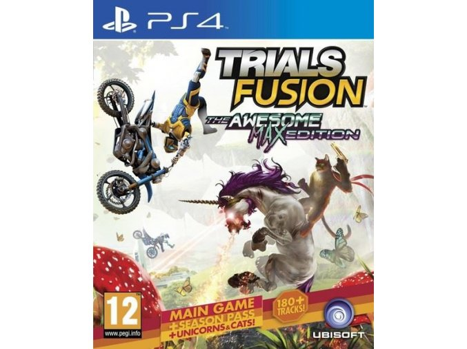 PS4 Trials Fusion: The Awesome Max Edition