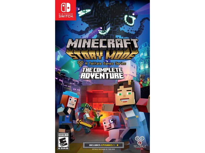 Nintendo Switch Minecraft: Story Mode - The Complete Adventure