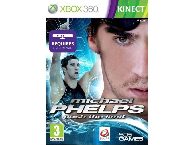 Xbox 360 Michael Phelps - Push the Limit