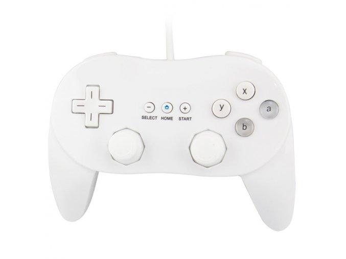 Nintendo Wii Ovladač Classic bílý