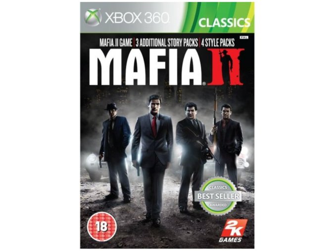 X360/XONE Mafia 2 Special Extended Edition