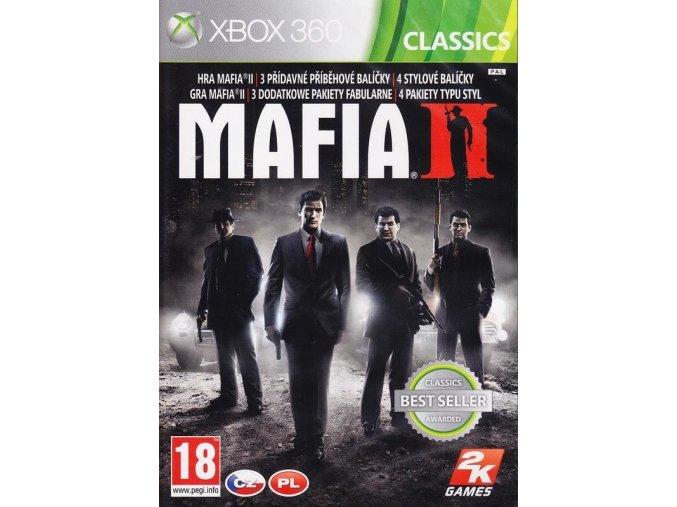 X360/XONE Mafia 2 Special Extended Edition CZ