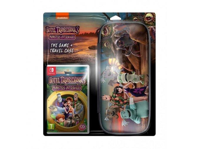 Nintendo Switch Hotel Transylvania 3: Monsters Overboard + Cestovní Pouzdro