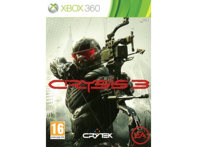 Xbox 360 Crysis 3 CZ