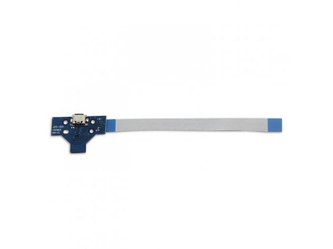 Nabíjecí port JDS-001 pro PS4 ovladač + flex kabel 14 pin