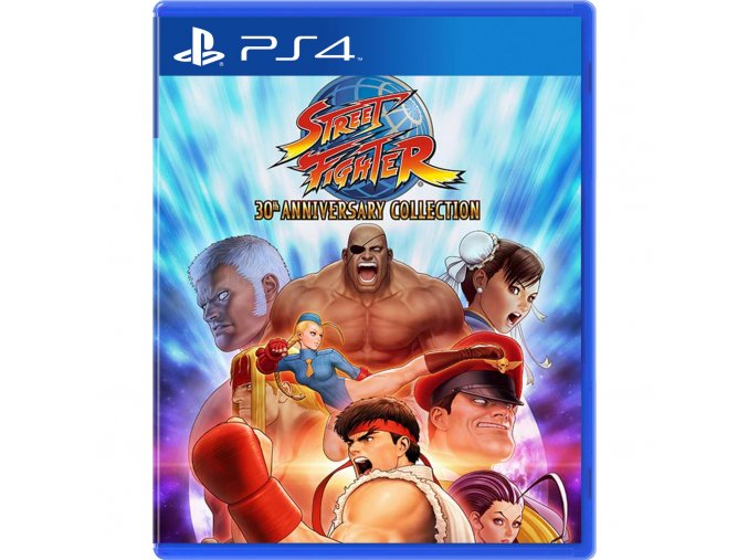 PlayStation 4 Street Fighter 30th Anniversary Collection