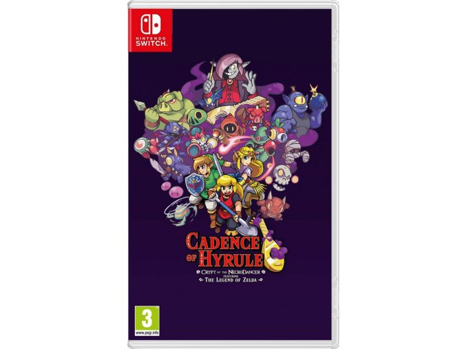 Nintendo Switch Cadence of Hyrule: Crypt of the NecroDancer