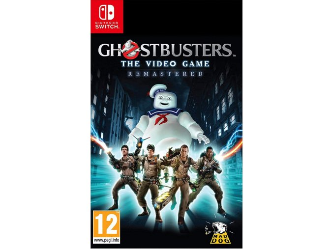 Nintendo Switch Ghostbusters The Video Game Remastered
