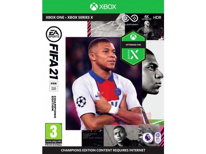 XONE/XSX FIFA 21 - Champions Edition