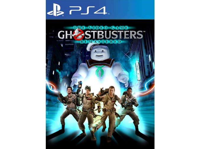 PS4 Ghostbusters The Video Game Remastered