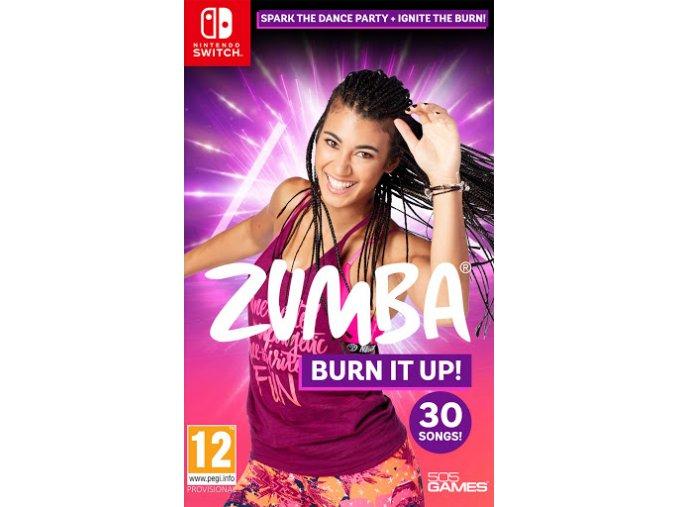 Nintendo Switch Zumba Burn It Up