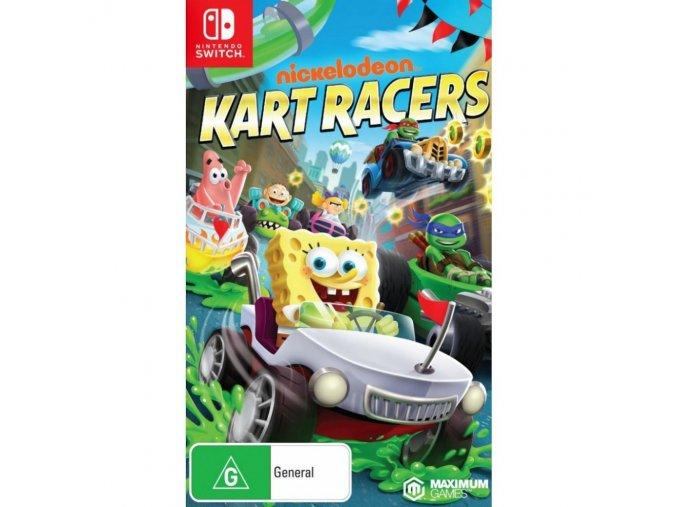 Nintendo Switch Nickelodeon Kart Racers