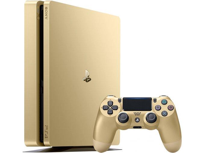 Playstation 4 Slim 500 GB Gold