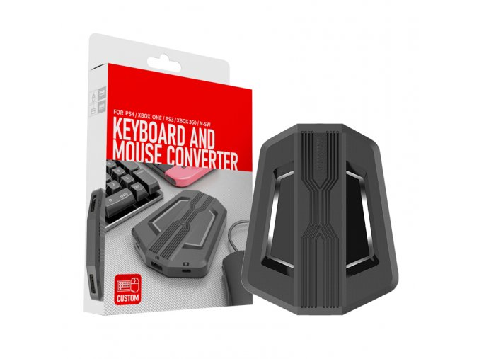 Adaptér pro klávesnici a myš na Nintendo Switch/Xbox One/ PS4/ PS3