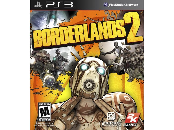 PS3 Borderlands 2