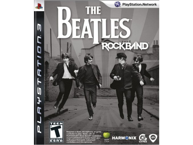 PS3 The Beatles Rockband