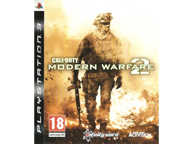 243445 call of duty modern warfare 2 playstation 3 front cover