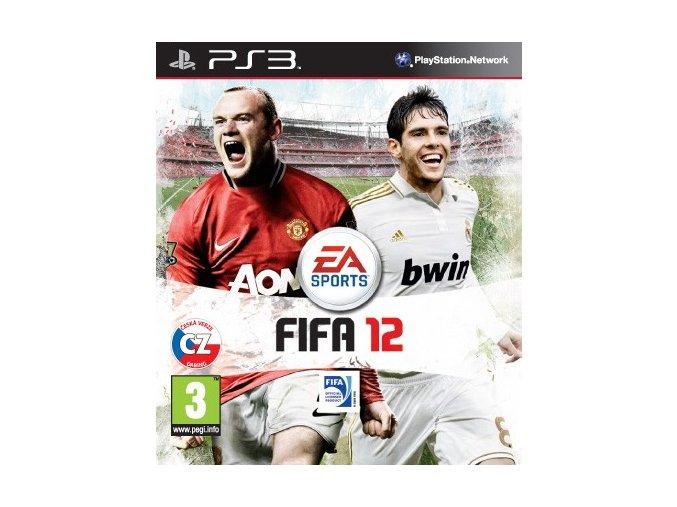 PS3 FIFA 12 CZ