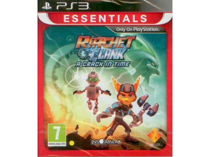 PS3 Ratchet and Clank: A Crack in Time