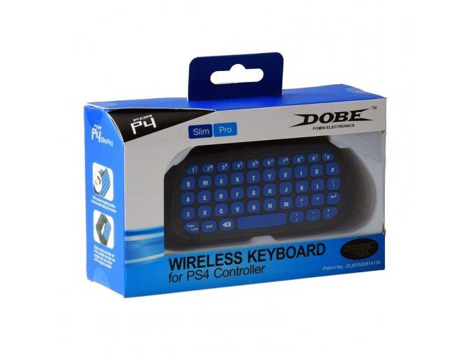 ps4 dualshock 4 ds4 pro slim controller dobe mini 24g wireless keyboard blackblue
