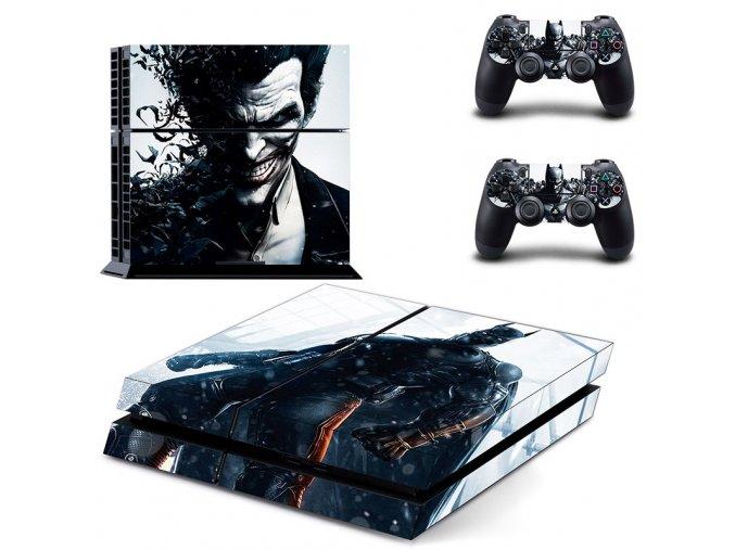 PS4 Polep Skin Batman & Joker