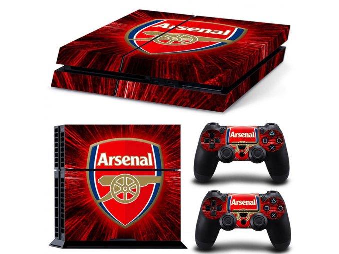 PS4 Polep Skin Arsenal FC