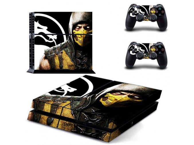 PS4 Polep Skin Mortal Kombat