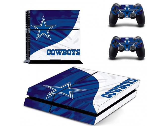 PS4 Polep Skin Dallas Cowboys