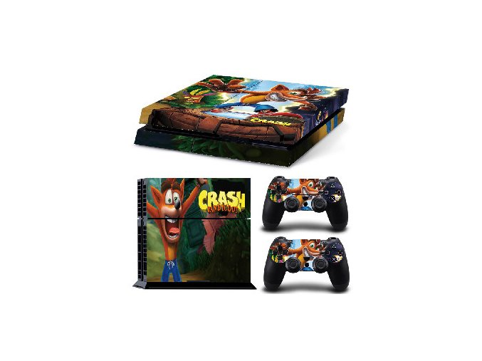 PS4 Polep Skin Crash Bandicoot