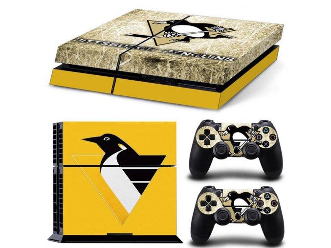 PS4 Polep Skin Pittsburgh Penguins