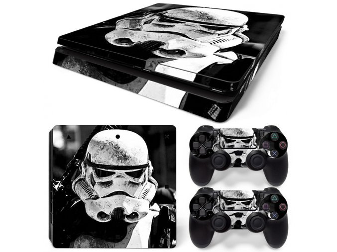 PS4 Slim Polep Skin Star Wars