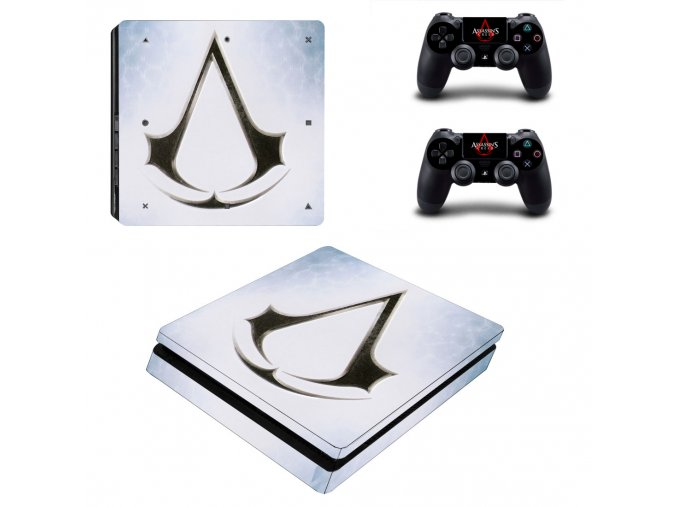 PS4 Slim Polep Skin Assassins Creed