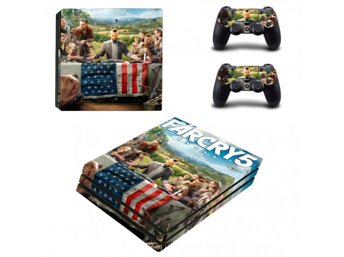 PS4 Pro Polep Skin Far Cry 5