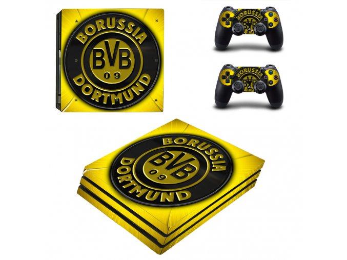 PS4 Pro Polep Skin Borussia Dortmund