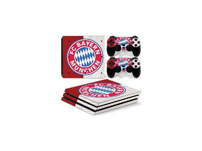 PS4 Pro Polep Skin FC Bayern Mnichov