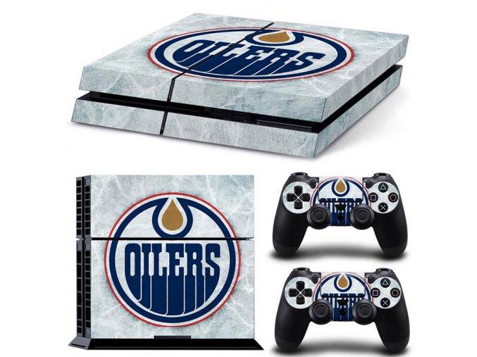 PS4 Polep Skin Edmonton Oilers