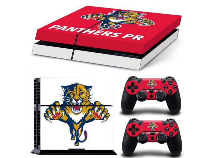 PS4 Polep Skin Florida Panthers