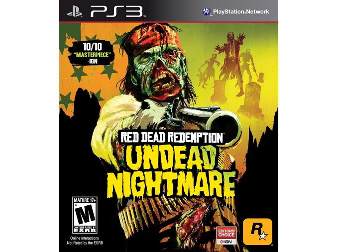 PS3 Red Dead Redemption: Undead Nightmare