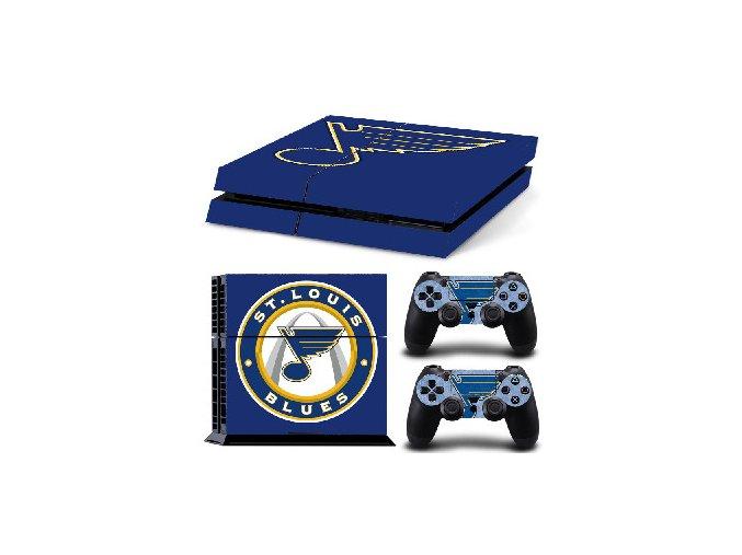 PS4 Polep Skin St. Louis Blues