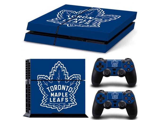 PS4 Polep Skin Toronto Maple Leafs