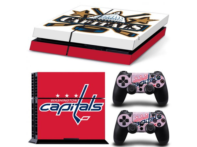 PS4 Polep Skin Washington Capitals