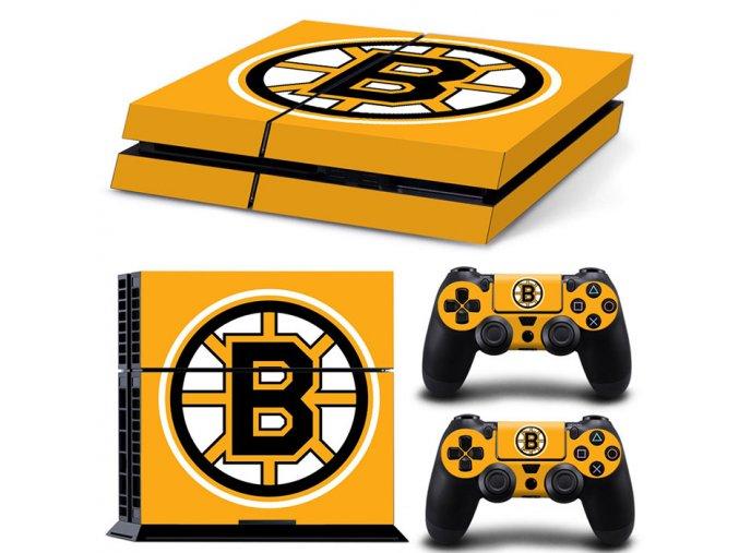 PS4 Polep Skin Boston Bruins