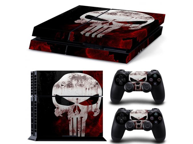 PS4 Polep Skin The Punisher