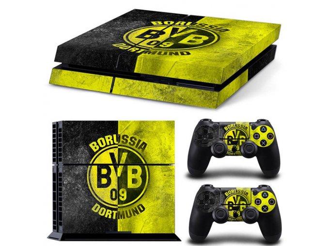 PS4 Polep Skin Borrusia Dortmund