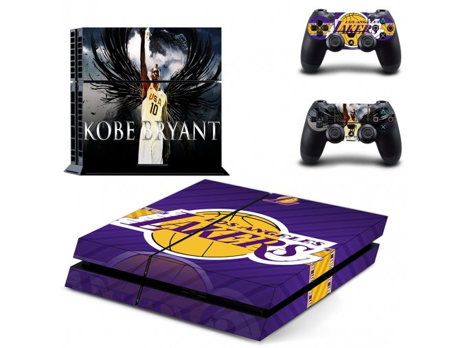 PS4 Polep Skin Los Angeles Lakers