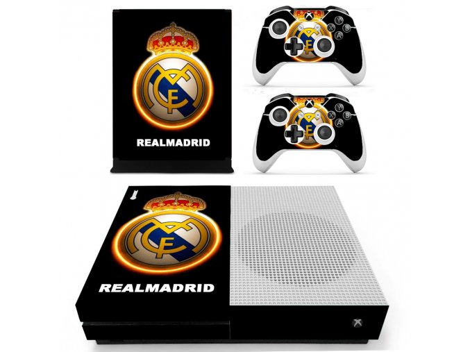Xbox One S Polep Skin Real Madrid CF