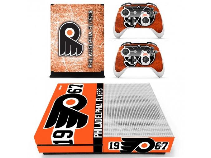 Xbox One S Polep Skin Philadelphia Flyers